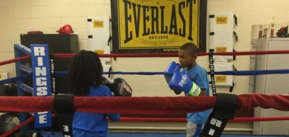 Boxing is a favorite sport at Carver