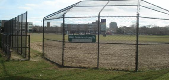 Armstrong Park Baseball Diamond