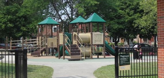 Indian Road Park playground