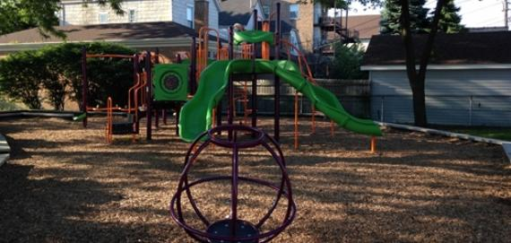 Grape Playlot Park playground equipment