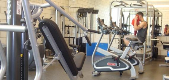 Fitness Center at Haas Park