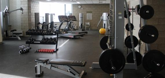 Check out our fitness center!