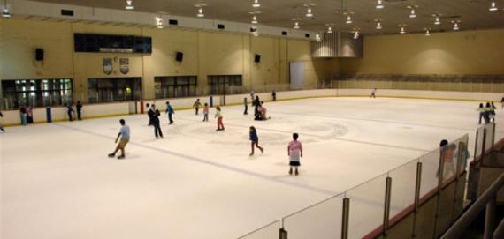 Indoor Ice Rink at McFetridge Sports Center
