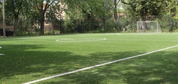 Soccer field at Pottawattomie Park