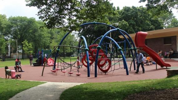 ChicagoPlays! playground at Touhy Park.