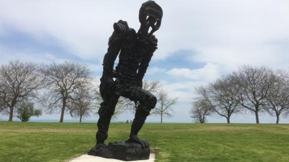 Large Walking Figure I