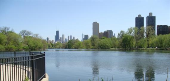 North Pond in Lincoln Park