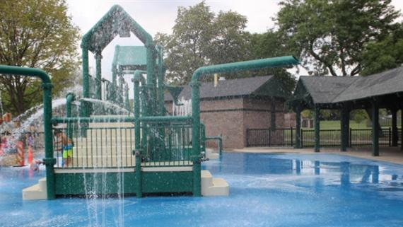 Riis Water Play Area