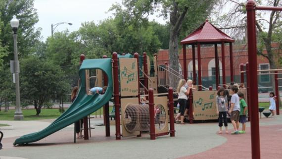Jefferson Memorial Playground