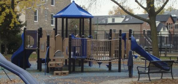 Come Out and Play at Holstein Park Playground.