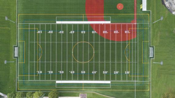 Artificial Turf Athletic Field at Addams Park
