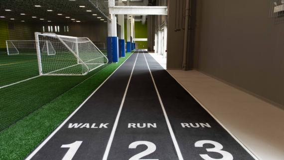 Indoor Track at Addams Park