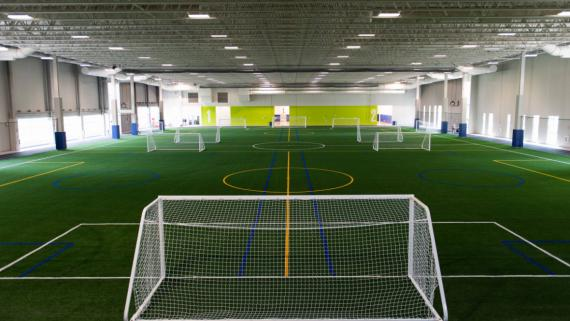 Indoor Soccer Field at Addams Park