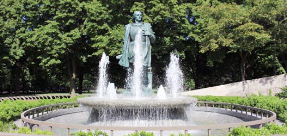 Christopher Columbus Monument at Arrigo