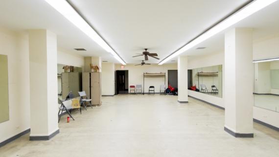 Austin Town Hall Dance Studio 1