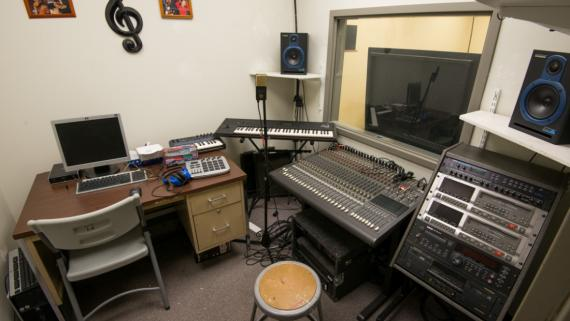 Music Production Room at Austin Town Hall