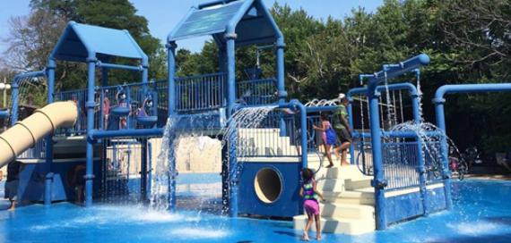 Austin Park Water Playground