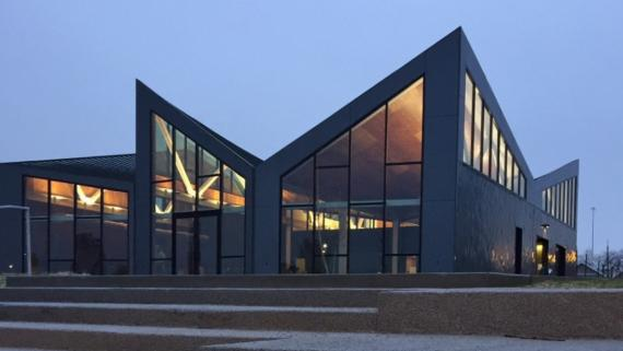 Our boathouse, designed by Studio Gang
