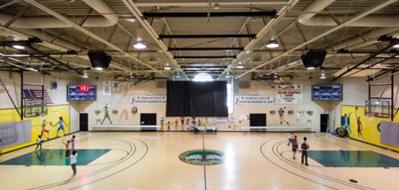 The multipurpose gym at Garfield Park
