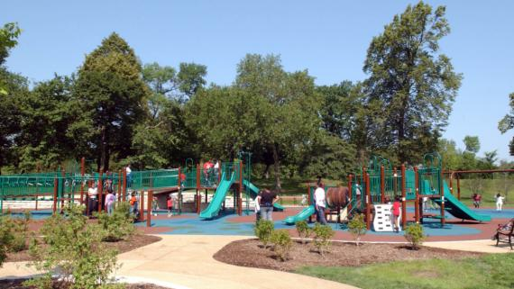 The boundless playground at Columbus Park