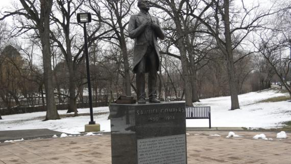 Samuel Gompers Monument