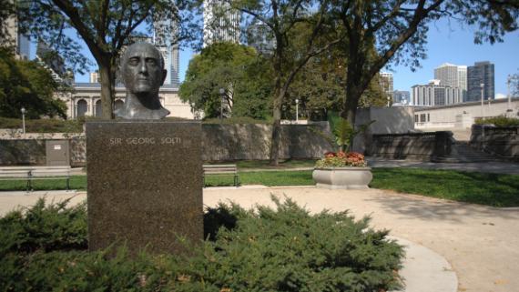 Sir Georg Solti Bust