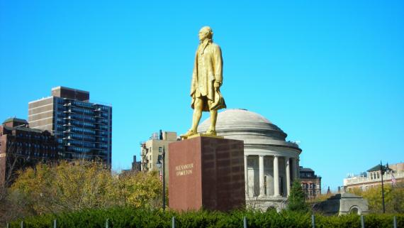 Alexander HamiltonMonument