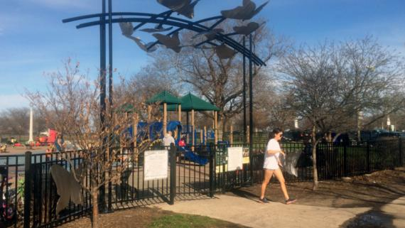Margate Park Playground Art