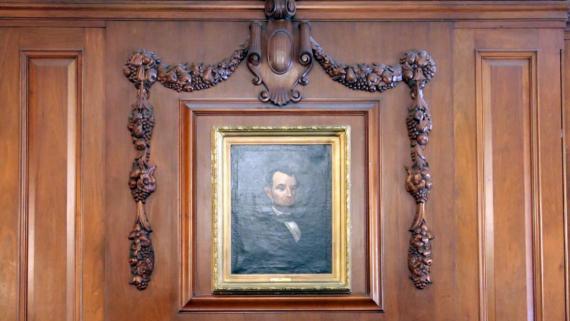 Lincoln Park: Abraham Lincoln Portrait