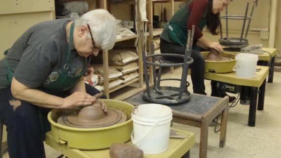Pottery/Ceramic Studio at Berger Park