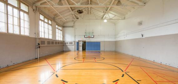 The gym at Dvorak