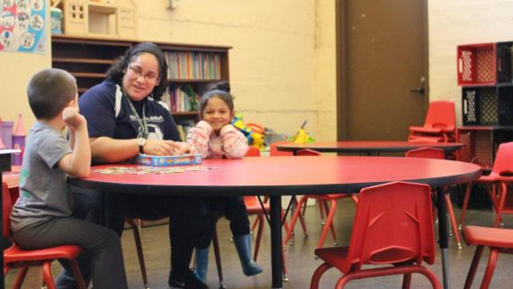 Early childhood programs at Davis Square