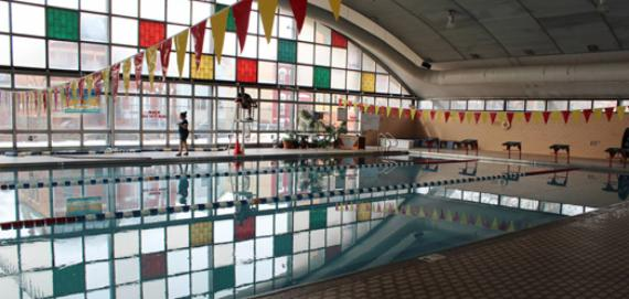 The pool at Eckhart
