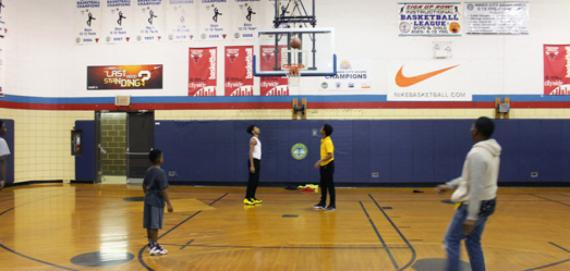 The gym at Franklin Park
