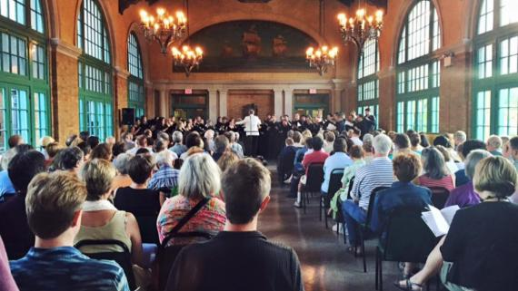 Grant Park Music Festival concert in the Refectory