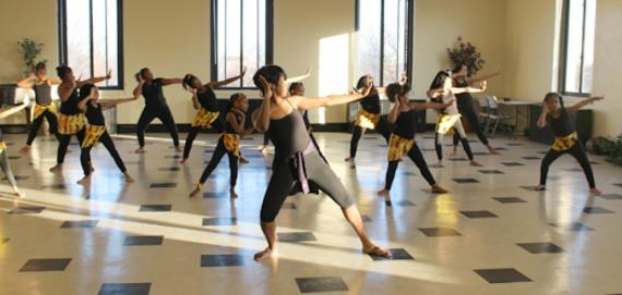 Dance class at Garfield Park