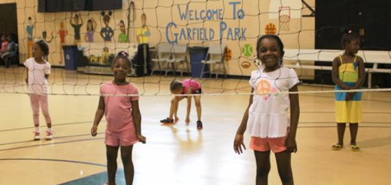 Summer Day Campers at Garfield