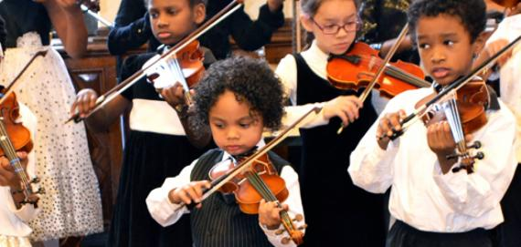 Violin with Chicago West Community Music Center