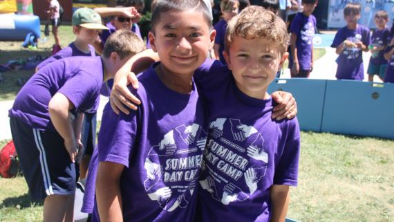 We love our campers at Haas!