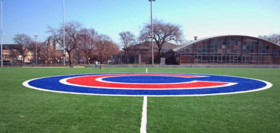 Harrison Park artificial turf field