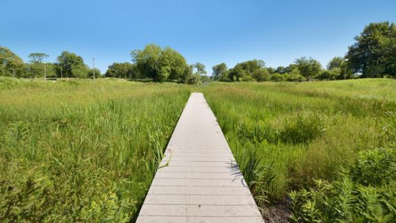 Natural areas for long walks