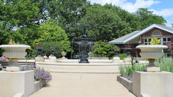 Our historic fountain