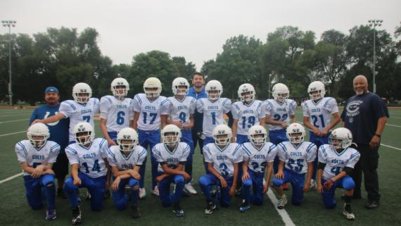 Our 2018 Jr. Bear Football Team!