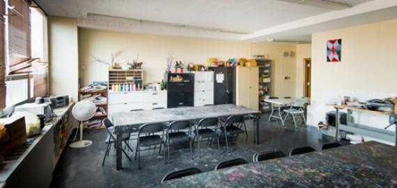 An art room at Kennicott