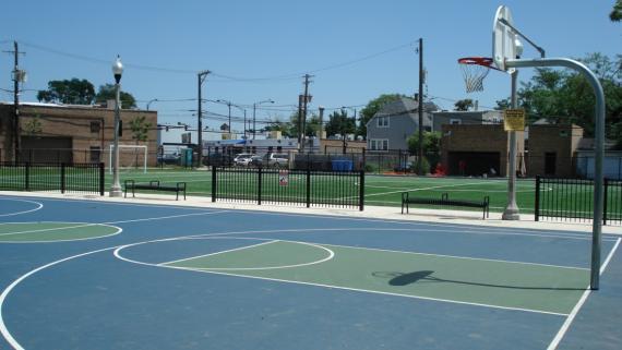 Kedvale Basketball Courts