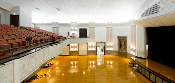 La Follette Park auditorium