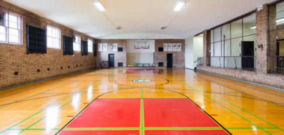 The gym at La Follette Park