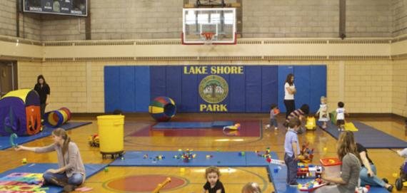 The gymnasium at Lake Shore