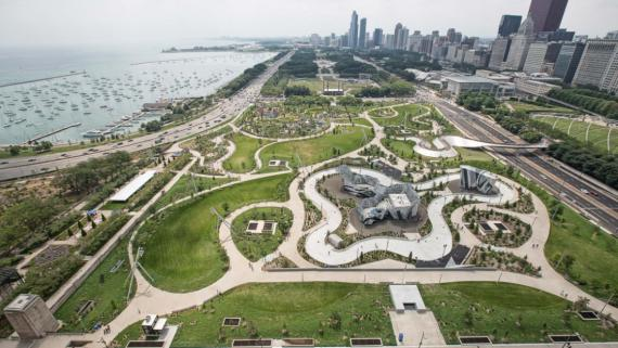 Maggie Daley Park from above