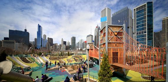 The Maggie Daley Park Playgarden!